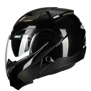 MERRYHE Unisex ABS Motocicleta Casco Cara Completa Motocicleta Allround Cascos Off-Road Motocicleta Capacete Casque