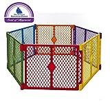 North States Color Superyard Baby/Pet Gate & Portable Play Yard - 6 Panel | 8769
