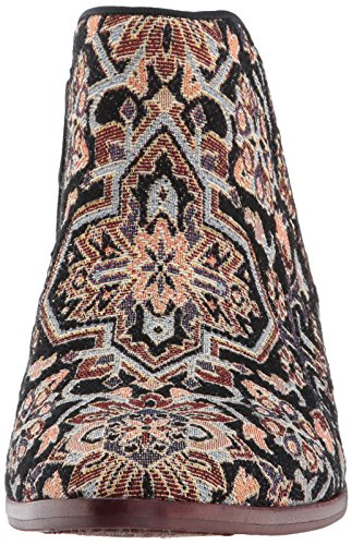 Sam Boots Ankle Edelman Black Tapestry Women's Turkish multi Petty PPwrZ