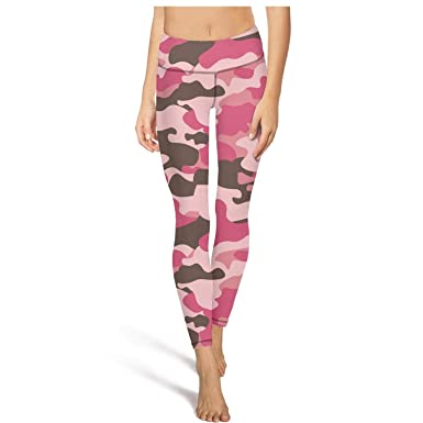 44b357de5e8347 Image Unavailable. Image not available for. Color: Mackiintion Women's Pink  Army Digital camo Yoga Pants ...