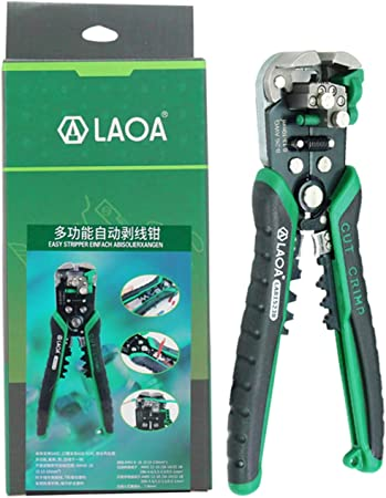 New Automatic Wire Cable Stripper Crimper Pliers Line Cutter Stripping Crimping