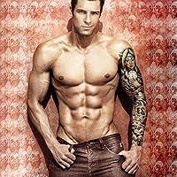 8 Hojas Tatuajes de brazo temporal Pegatinas para hombres Mujeres ...