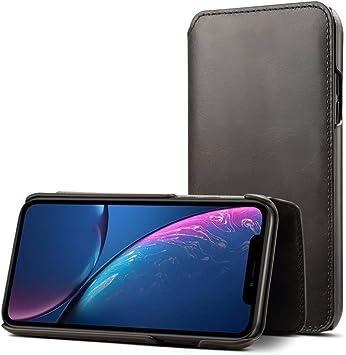 De gama alta de negocios cubierta del teléfono de Oil Wax: Amazon ...