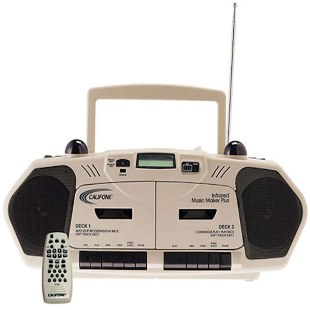 Amazon.com: Califone 2395IR Music Maker Plus Multimedia Player, Dual  Infrared Transmitters for Wireless Listening: Toys & Games