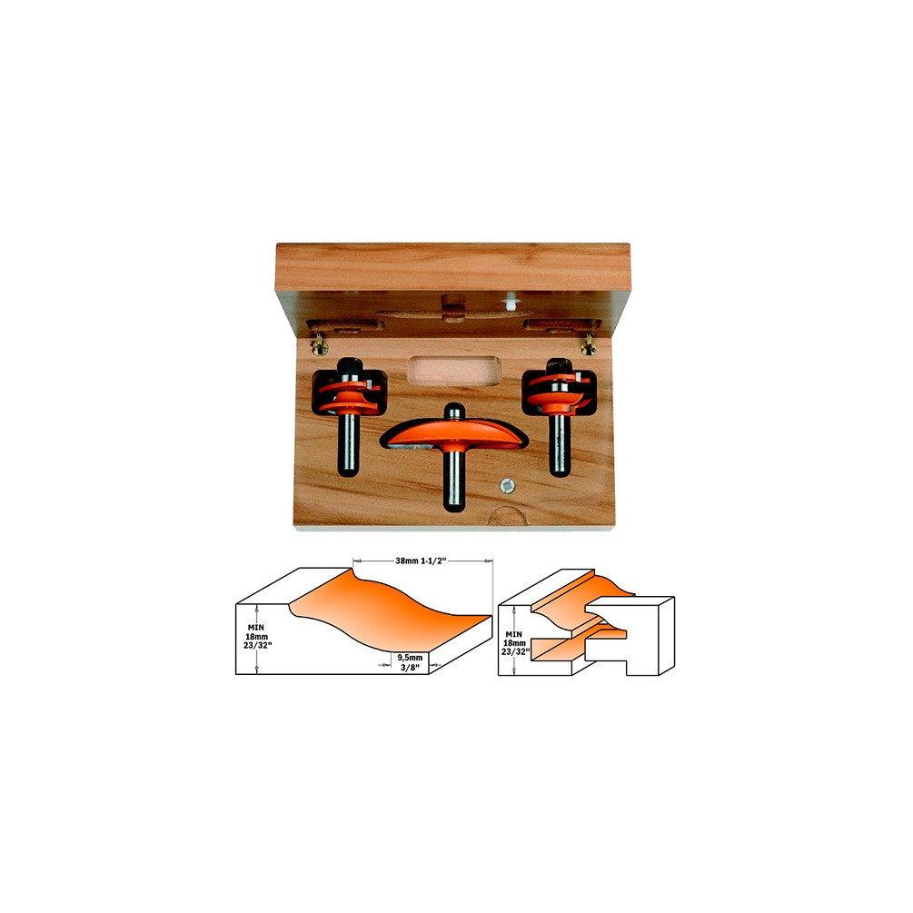 perf. a2 CMT Orange Tools 900,513,11 Coffret 3 pour cuisines fraises hm s 12