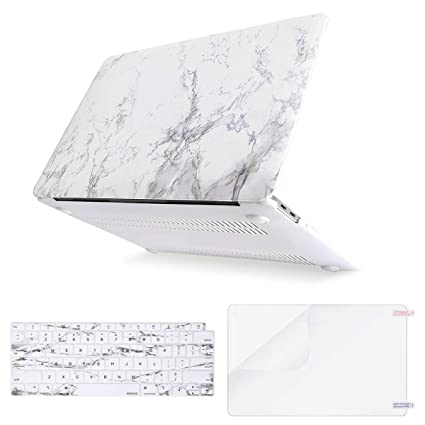 MOSISO MacBook Air 13 Inch Case 2018 Release A1932 with Retina Display,  Plastic Pattern Hard Case Shell & Keyboard Cover & Screen Protector Only