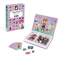 Janod - Magneti'Book Disfraces juguete educativo, Niñas (J02718)