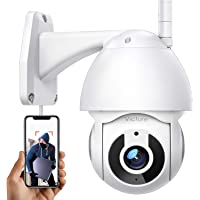 Security Camera Outdoor, Victure 1080P WiFi Home Security Camera with Pan/Tilt 360° View, Night Vision, IP66 Waterproof…