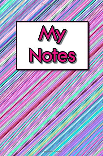 Download My Notes: Volume 1 - Pink Candy Cane Stripes (Notebooks, Journals, Diaries and Planners) pdf