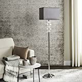 Safavieh Lighting Collection Times Square Clear 60.25-inch Floor Lamp