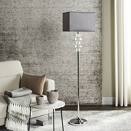 Safavieh Lighting Collection Times Square Clear 60.25-inch Floor Lamp ()