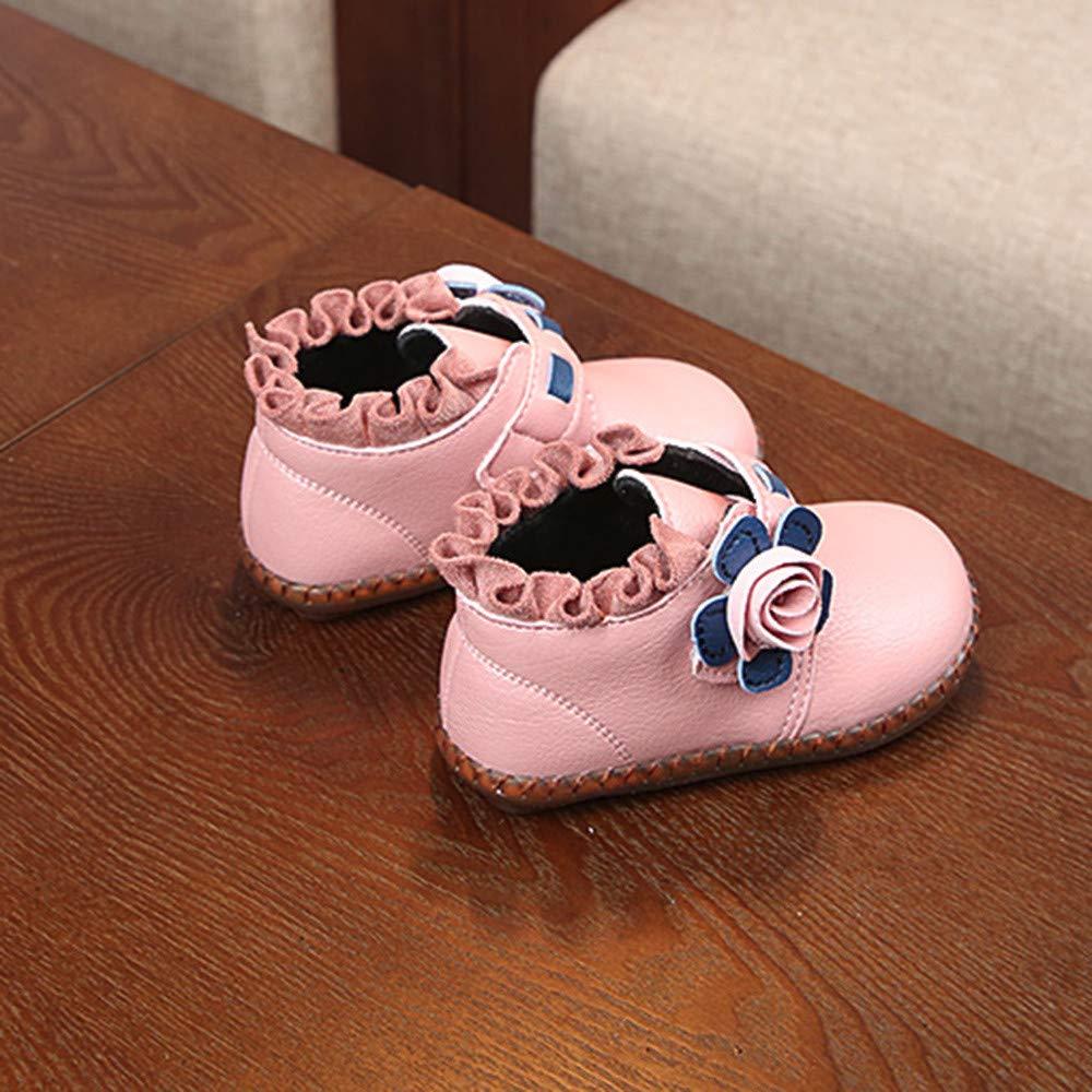 Zapatos Ni/ña Invierno Zolimx Beb/é Ni/ños Calientes Chicos Chicas Floral Martin Sneaker Botas Newborn Baby Zapatos Casuales