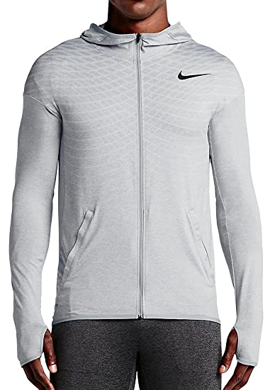Amazon.com   Nike Ultimate Dry Men s Training Hoodie, Wolf Grey ... ed25f0aa04