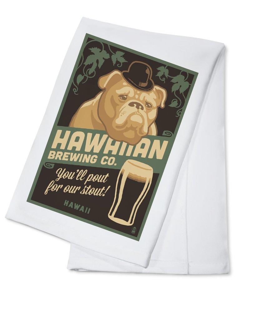 【2018A/W新作★送料無料】 ハワイ – ハワイアンBrewing Co – Co ブルドッグ – Towel レトロスタウトビールAd 15oz Cotton Mug LANT-3P-15OZ-WHT-78426 B01NCY67AH Cotton Towel Cotton Towel, イマリシ:e74dfea2 --- podolsk.rev-pro.ru