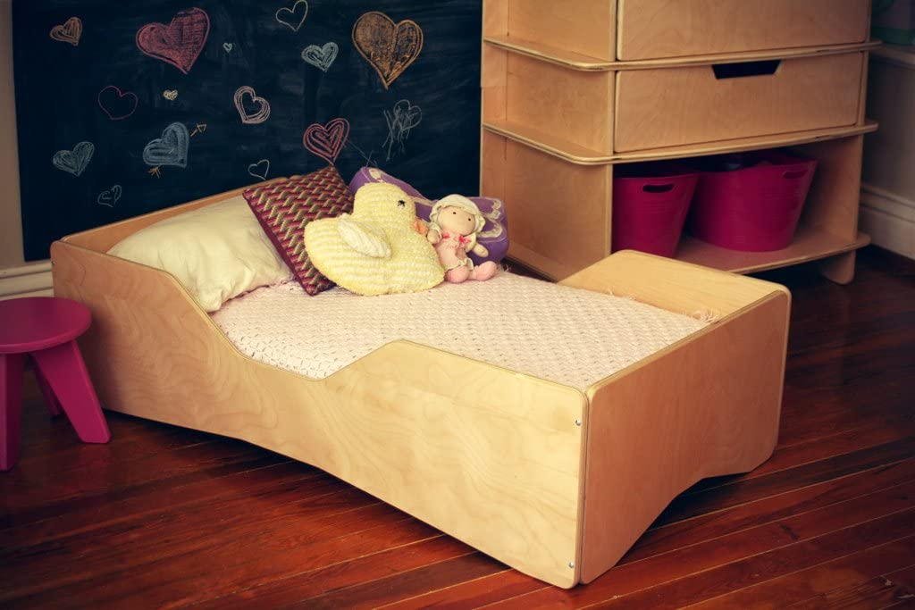 Blonde Aero Toddler Bed