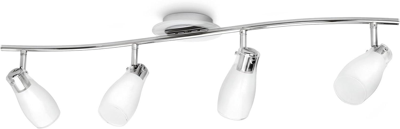 Philips MyLiving Plafonnier Lampes de Plafond 3 x 12 W 230 V Chrome