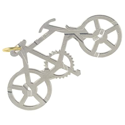 BePuzzled Bike Hanayama Cast Metal Brain Teaser Puzzle (Level 1) Puzzles For Kids & Adults Ages 12 & Up: Toys & Games