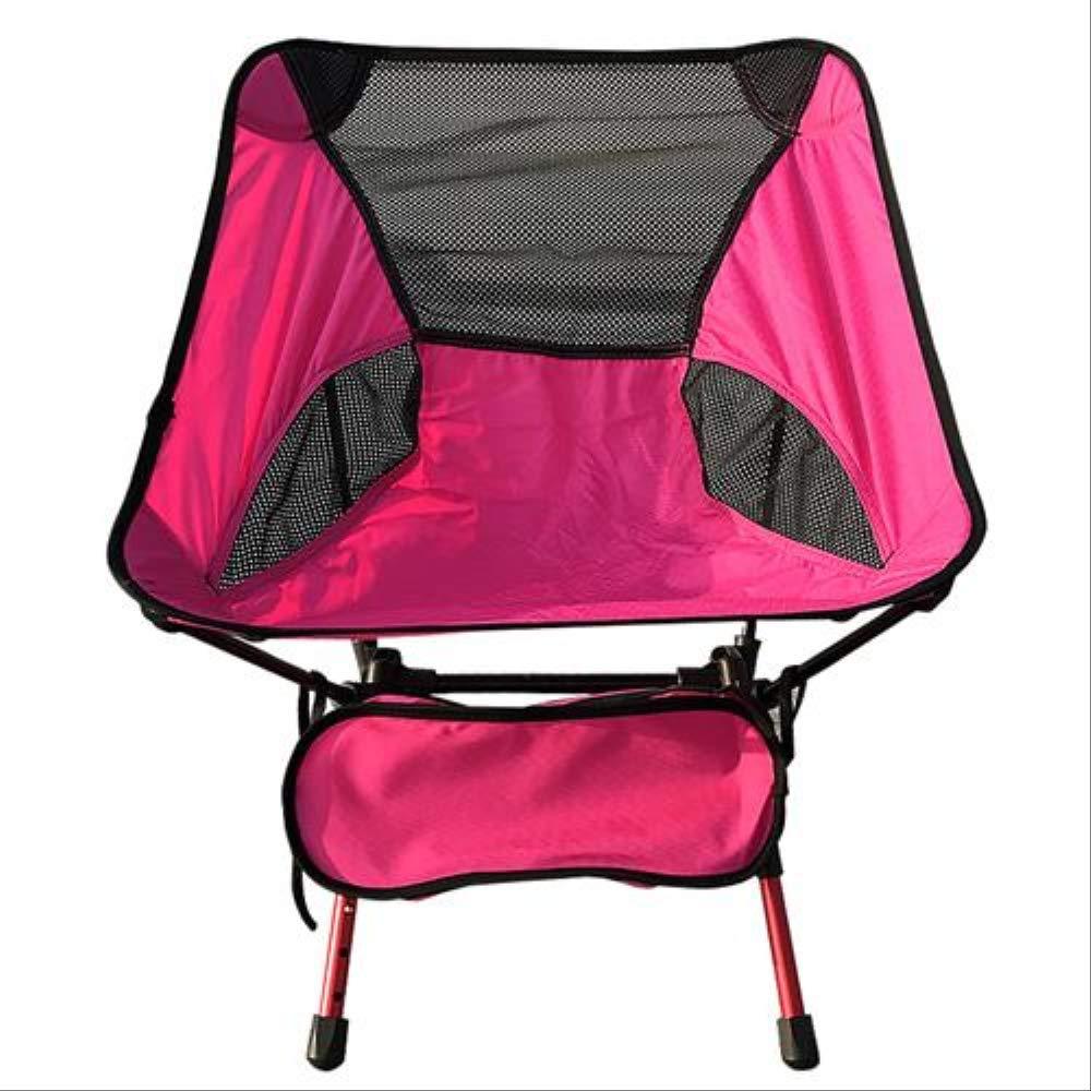08 Fishing Chair  HRYSSYX Chaise Pliante Maille élevée de Dossier de Soucravaten Se Pliante extérieure portative de Camping avec Le Sac à Dos