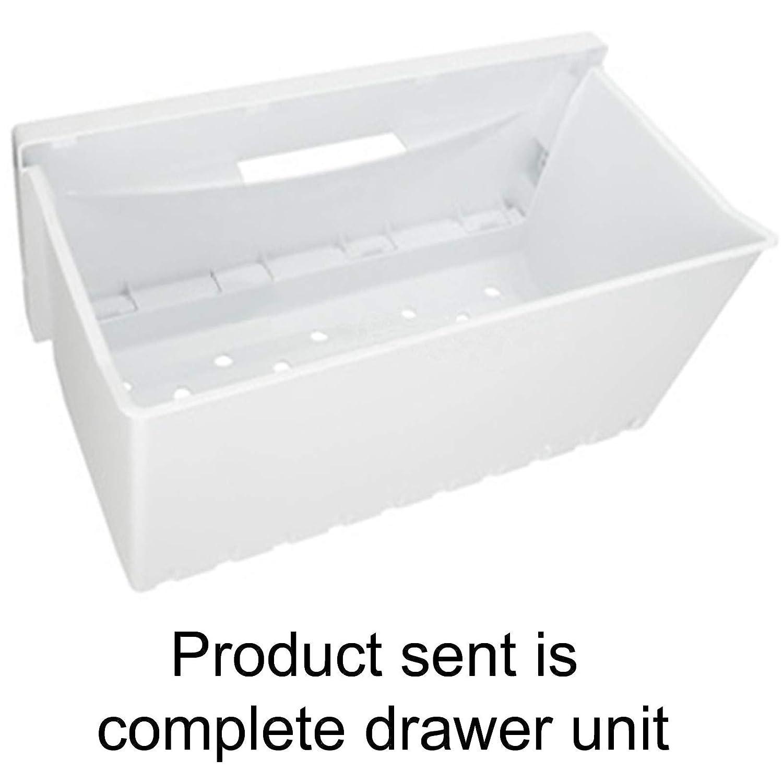 Cubierta frontal Hotpoint para cajón de congelador, color blanco ...
