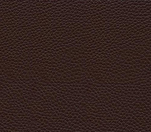 Vinyl Fabric Champion DARK BROWN Fake Leather Upholstery / 54