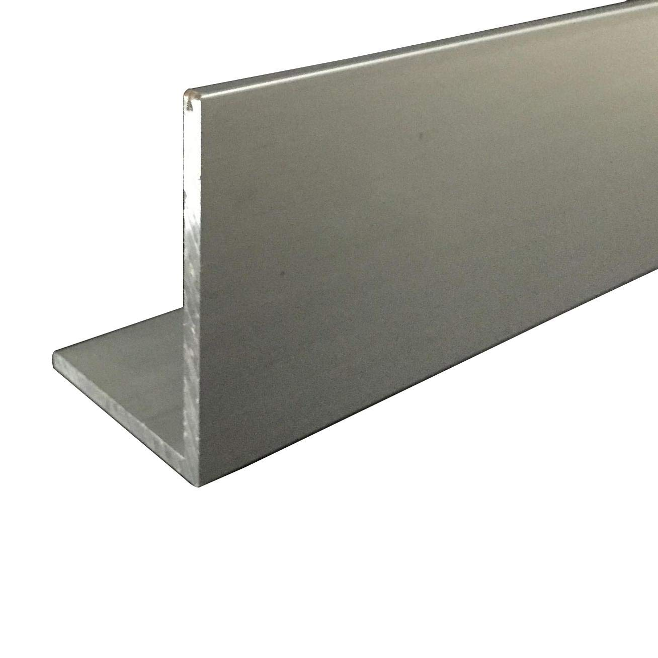 Long 3mm Thick 6063 T5 Aluminum Angle 2pcs 30mm x 60mm x 250mm 9.84