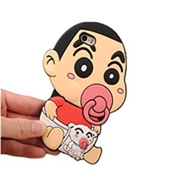 可愛いキャラクター保護ケース クレヨンしんちゃん デイジーダック ドラえもん シリコンケース 携帯ケース iphone5/5s