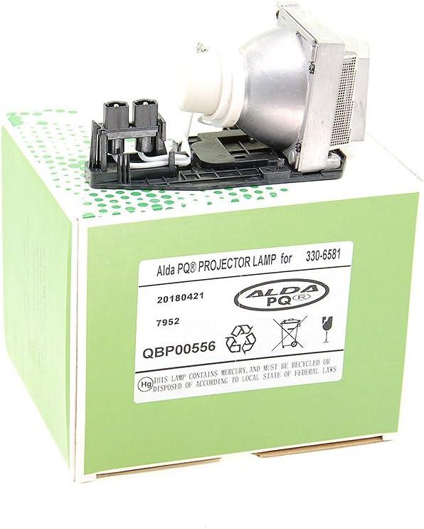Alda PQ/® module de lampe avec culot 1610HD 1610X Projecteurs 725-10229 pour DELL 1510X Lampe de remplacement 330-6581