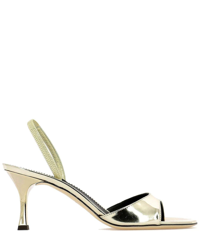 Giuseppe Zanotti Zanotti Zanotti Design Damen E900074003 Gold Leder Absatzschuhe 1db01a