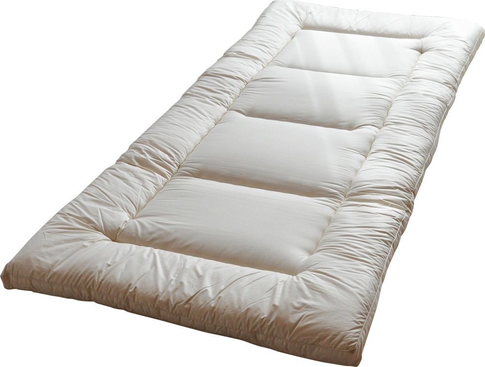 shipping in futon size mfc with covers mattress canada king natural organic tufts free dunlop