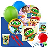 super why invitations - BirthdayExpress Super Why Party Supplies - Value Party Pack