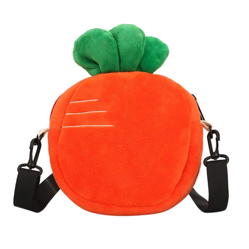 KANGMOON Mini Handbag Cute Fruit Straw Cross-body Bag Weave Summer Beach Travel Satchel Shoulder Bag Phone Pouch Coin Purse