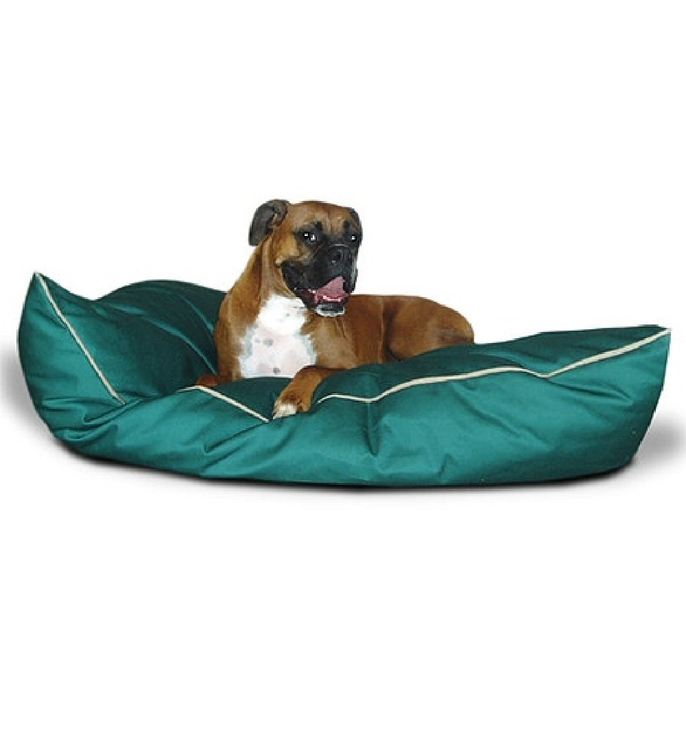 Majestic Pet 28-Inch by 35-Inch Super Value Pet Bed Medium, Green by Majestic Pet Products, Inc.