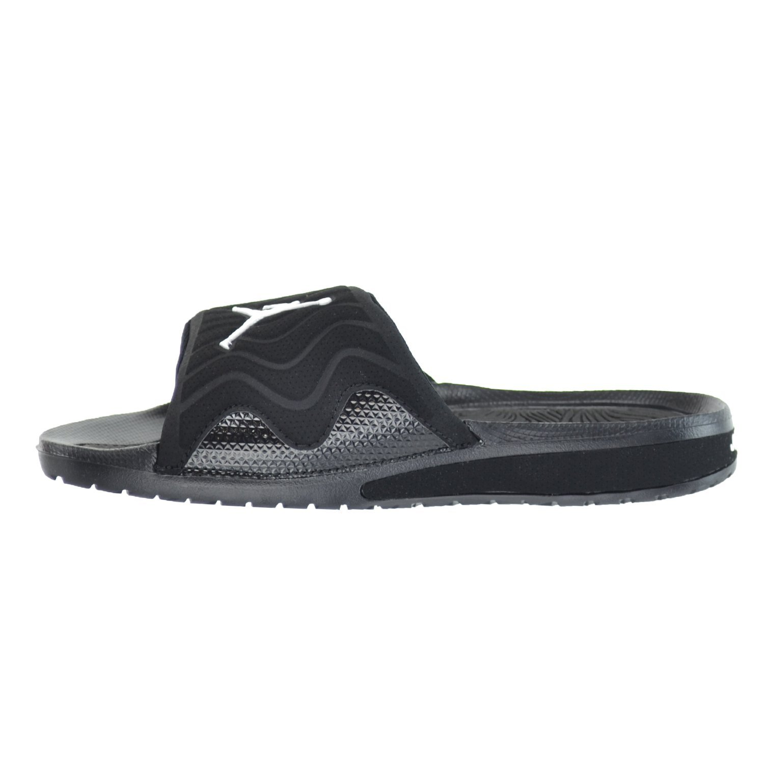 0c9d868f260d Jordan Hydro 4 BG Big Kid s Sandals Black White Black 705171-010 Black  Size  7 M US Big Kid  Amazon.co.uk  Shoes   Bags