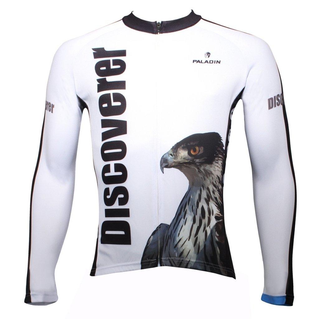 PaladinSportメンズDiscovery Eagleホワイト自転車Clothing B015LU2S94 XX-Large=US Size Large|303-Long sleeve 303-Long sleeve XX-Large=US Size Large