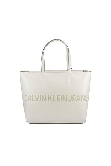 Calvin Klein DAMEN TASCHE SCULPTED ZIP TOTE LOGO K40K400382