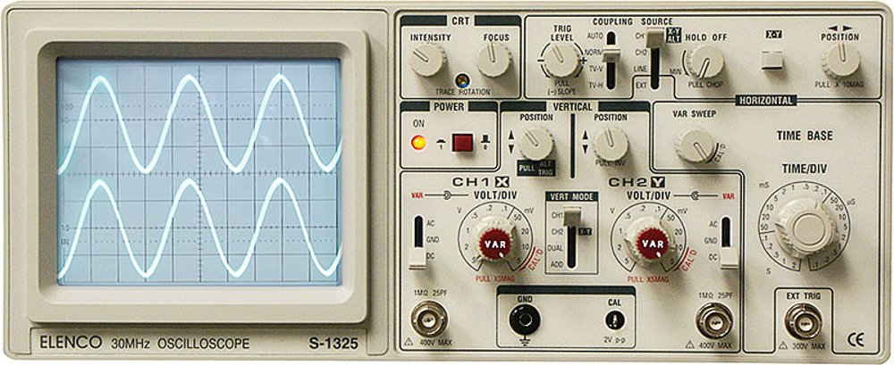 Oscilloscope, S-1325 25mhz - S-1325: Science Lab