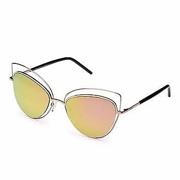 Amazon.com: Gafas de sol para mujer 100% con protección UV ...
