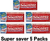 [Super saver & with English instruction] Shionogi CUSHION CORRECT EZ denture cushion grip adhesive, 10g (5 packs)