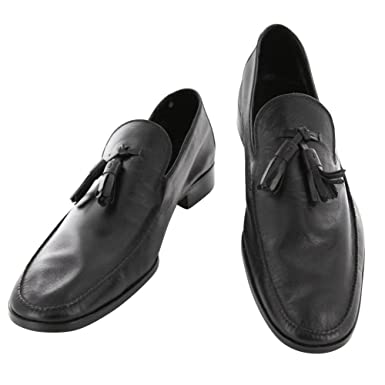 New Saint Crispin's Black Leather Shoes 8.5 D/7.5 F