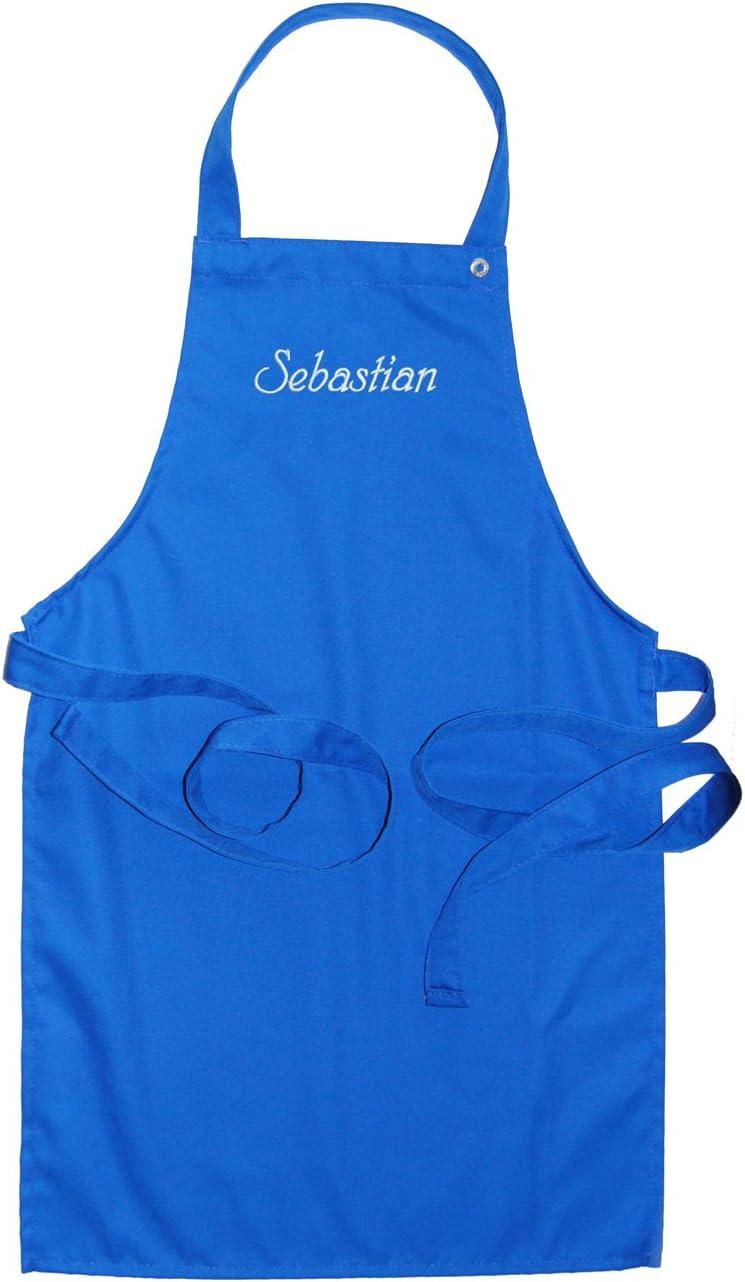 CG Workwear Kindersch/ürze mit Name Farbe cherry KringsFashion/® Latzsch/ürze hochwertig bestickt; Sch/ürze und Stickerei deutsche Produktion