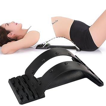 Amazon.com: MF @ Sqy Magic espalda lumbar cojín, massagers ...