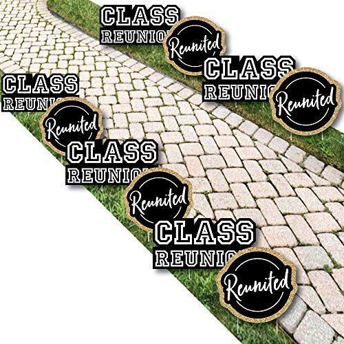 Reunited - Lawn Decorations - Outdoor School Class Reunion Party Yard Decorations - 10 -