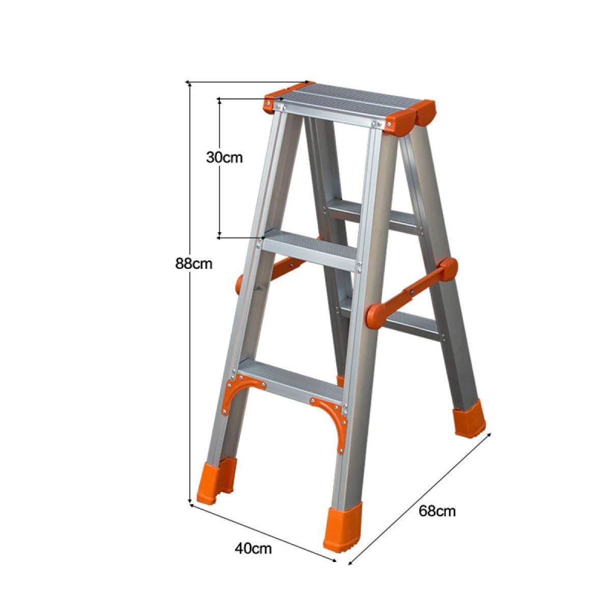 A la venta con descuento del 70%. B Driverder Driverder Driverder Taburete Plegable Ligero Portátil del Paso Escalera Plegable para el hogar Escalera de Aluminio más Gruesa Escalera de Estiramiento Escalera de ingeniería de usos múltiples (Color   B)  mejor calidad