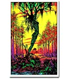 Swamp Mirage Blacklight Responsive Poster