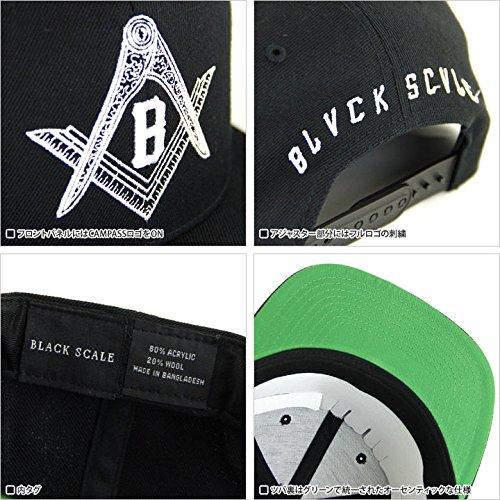 Amazon.co.jp: (ブラックスケール) BLACK SCALE キャップ COMPASS SNAPBACK   BSHW044   BLACK   服&ファッション小物 984740b8d8c1