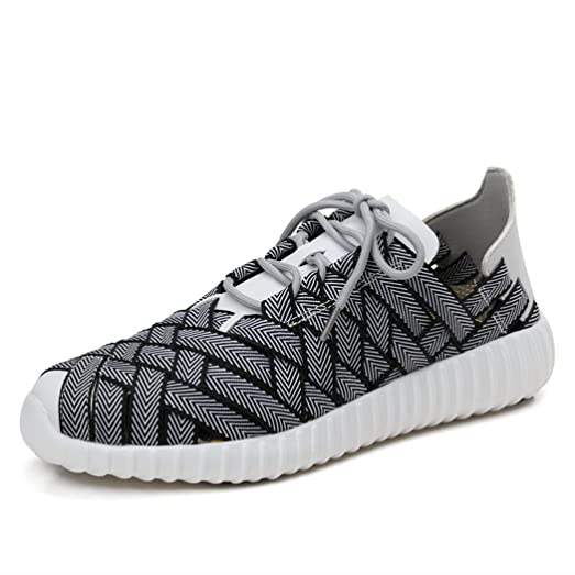 Womens Casual Shoe Lightweight Fiber Woven Breathable Walking Shoe
