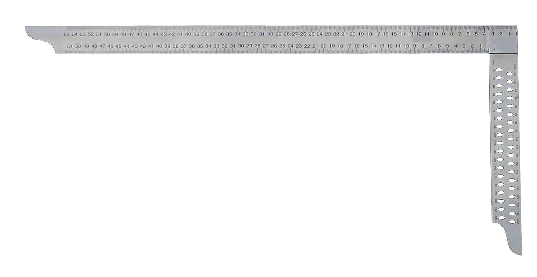 hedue Z082 Zimmermannswinkel ZP 800 mm mit mm-Skala Typ A und Anrei/ßl/öcher
