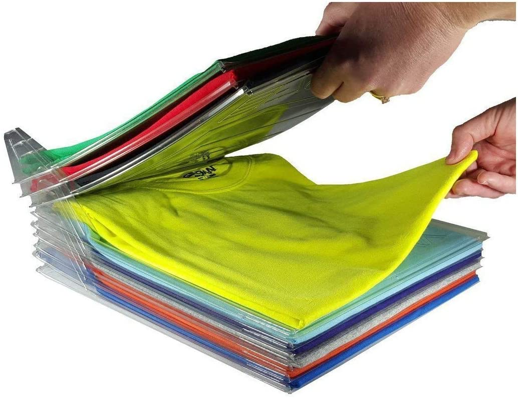 Organizador para Camisas/Camisas/Documentos, Plegable, 10 Unidades