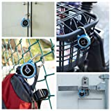 Fingerprint Padlock, Sacow Smart Bluetooth Security Lock Waterproof Anti-Theft Keyless Padlock Outdoor for Gym, Door, Backpack, Luggage Suitcase, Bike, Office