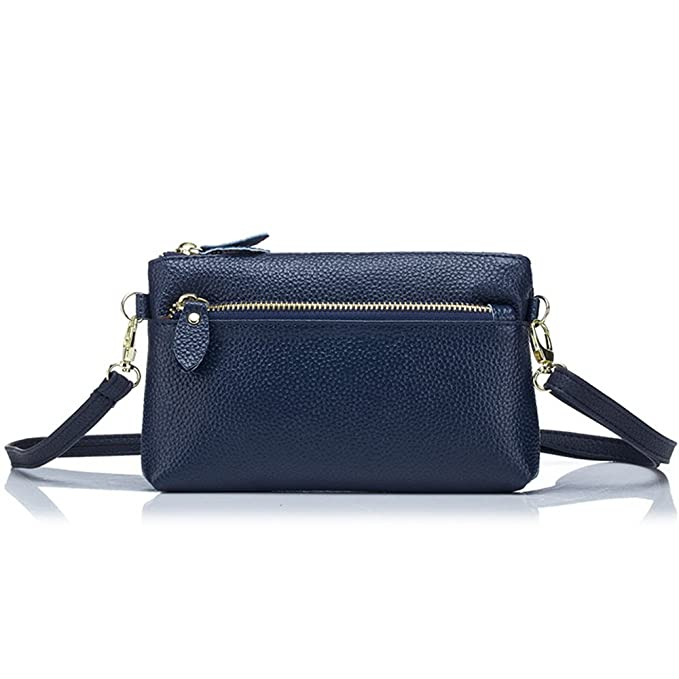 Image Unavailable. Image not available for. Color  Aladin Small Leather Crossbody  Bag Wristlet Purse 2 In 1 Handbag for Women Teen Girls c47d6f65a8c0b